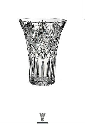 Waterford Crystal CASSIDY Vase Brand New Unopened 10 Inch