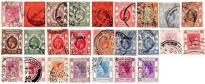 commonwealth stamps, hong kong