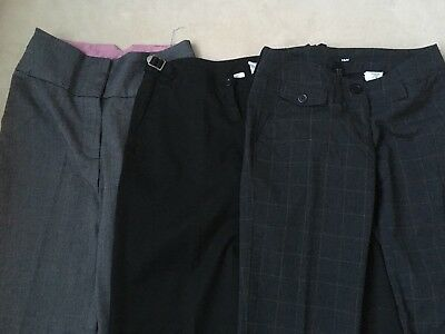 Bundle Of Office Trousers Ladies Size 34 H&M, Atmosphere,
