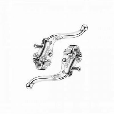 Dia-Compe MX123/Tech-4 22.2mm Brake Lever Pair Old School Vintage BMX -Silver