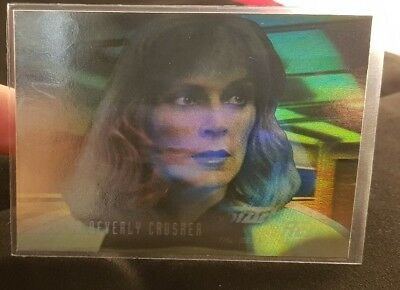 Star Trek The Next Generation Season Three Hologram HG5 Dr Crusher odds 1:180