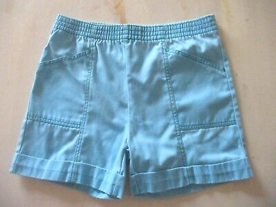 Girls  Vintage BHS  turquoise summer shorts age 5  yrs height 110 cm
