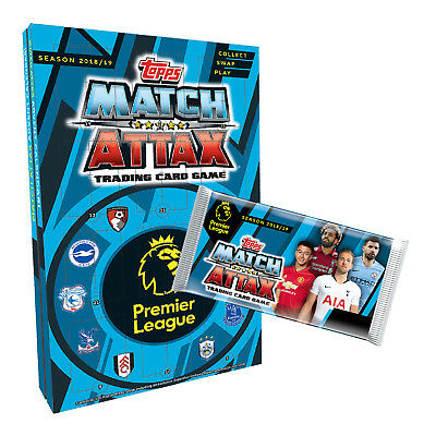x24 Packs Topps EPL Match Attax 2018/19 - SPECIAL OFFER ONLY £16.99!