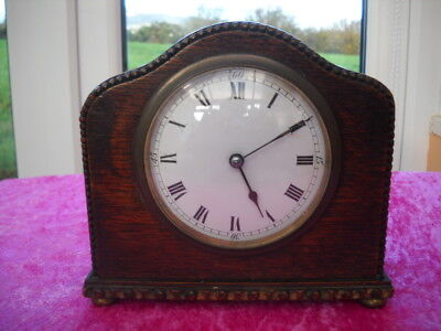 A Nice Small French Mantel Clock For Repair.