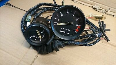 HONDA OUTBOARD GAUGE set tacho rpm tachometer trim level including harness