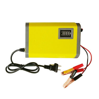 Car Motorcycle Battery Charger 12V 6A Full Automatic Intelligent Smart F4Q0