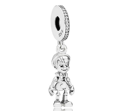 Pinocchio Charm Bead for Iconic Bracelet Silver Winter Collection European Style