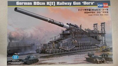 "1:72 Hobby Boss 82911 German 80cm K(E) Railway Gun ""Dora"""