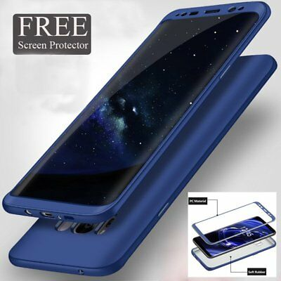 360° Full Cover Soft Case + Screen Protector for Samsung Galaxy S8 S9 Plus S7