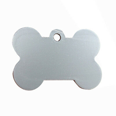 5X(38MM Personalized Customised Pet Puppy Dog Cat Animal Name ID Tags for Col MO