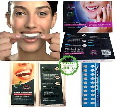 28 Teeth Whitening Strips Home Tooth Bleaching Advanced Strip White Quick Result