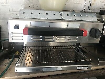 Salamandre Angelo Po 60sme Wall Mouted Kitchen Grill For Takeaway Or Restarunt