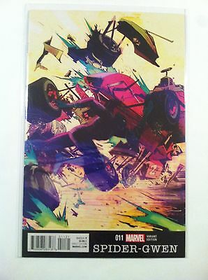 """Spider-Gwen V.2 #11 Paul Pope """"black Panther"""" Variant Cover Nm 1St Printing 2016"""