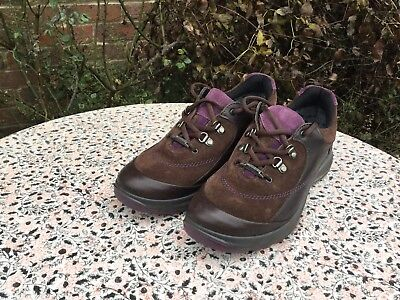 HOTTER - Taw - Gore-Tex - Brown Leather & Suede - Lace Up - Walking Shoes - UK 7