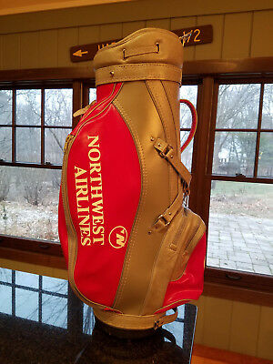 Northwest Airlines golf bag