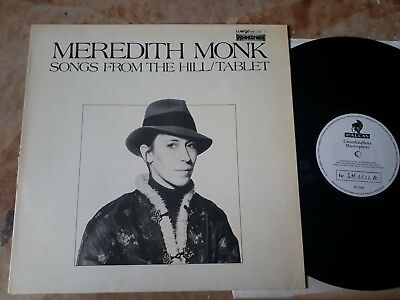 Meredith monk - songs from the hill / tablet  - wergo - sm 1022 a -musterplatte-