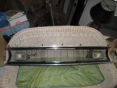 1970 71 72 plymouth scamp duster grille