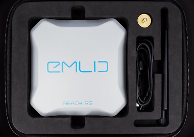 EMLID REACH RS - RTK GNSS receiver with an app as a controller