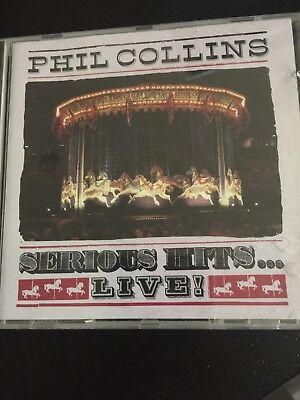 Phil Collins: Serious Hits Live! CD Album (Greatest Hits/Very Best of)