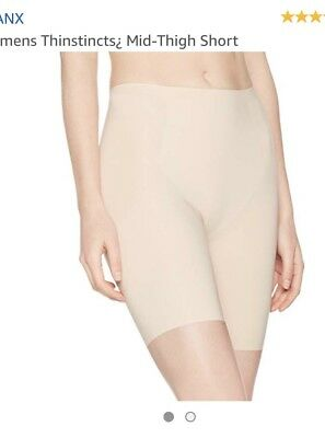 Spanx Trust Your Thinstincts Mid-Thigh Shaping Short Size Small Color Nude