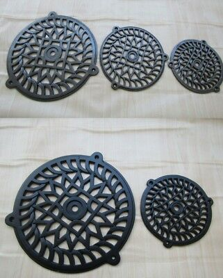 Vintage Victorian Rustic Repair Air Vent Brick Grille Extraction Cover Round