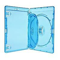 5 Estuches/cajas reemplazo TRIPLE bluray amaray 14mm