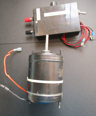REDUCED 12/24v DC motor with controller