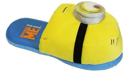 Mens Despicable Me Minions 3D Novelty Mule Slipper Great Gift