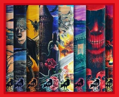 FREE SHIPPING! STEPHEN KING New Cover Series DARK TOWER SET Artist Signed #191