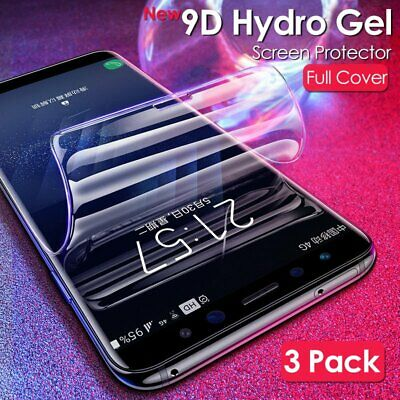 HydroGel Screen Protector For Samsung Galaxy S10 S8 S9 Plus Note 9 Full Coverage