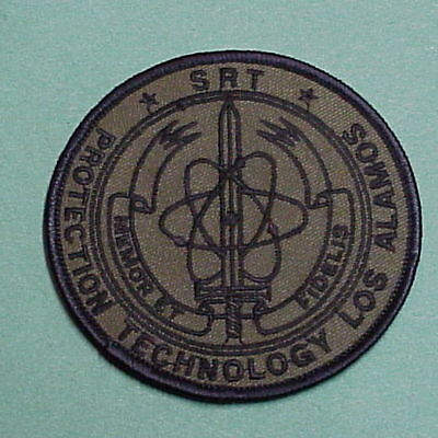Los Alamos  New Mexico  Nm  Srt  ( Subdued )  Police Patch   Free Shipping!!!