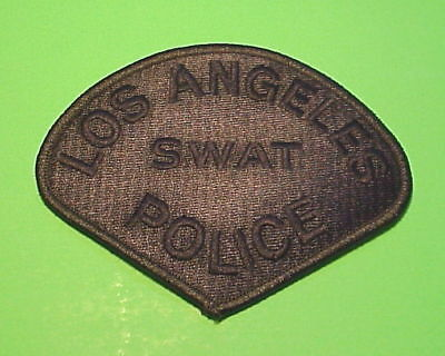 Los Angeles  California   Swat ( Subdued Green )  Police Patch   Free Shipping!!
