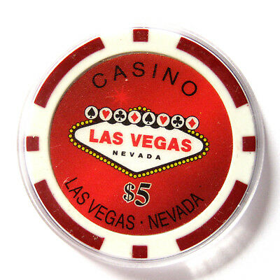 d WELCOME TO FABULOUSE LAS VEGAS Chip / Spielwert $5 (#223/4) 6.12