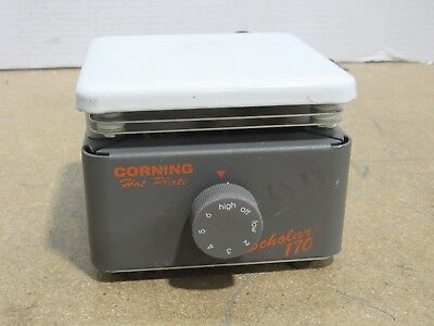 """Corning Scholar 170 Laboratory Hot Plate 5"""" x 5"""" Part # 6795-170 Tested/Working"""