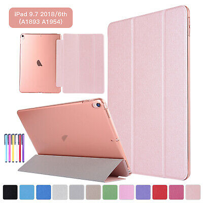 For iPad 2 3 4 9.7 2018 2017 Air 2 Mini Pro Smart Slim Flip Leather Case Cover