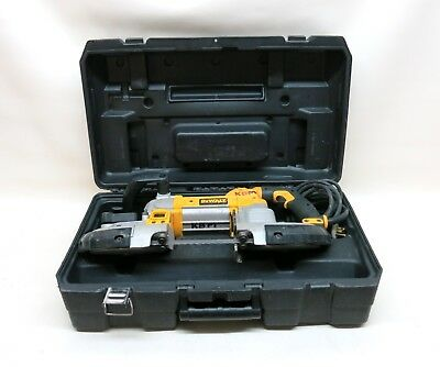 "DEWALT DWM120 10A Corded 5"" Deep Cut Variable Speed Band Saw Power Tool w Case"