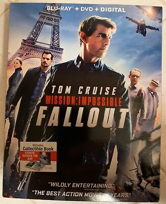 Mission: Impossible Fallout (blu-Ray + DVD + Digital) - 2018