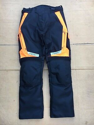 "RST Mens Textile Motorbike Motorcycle Trousers UK 30"" to 32"" Waist LBC"