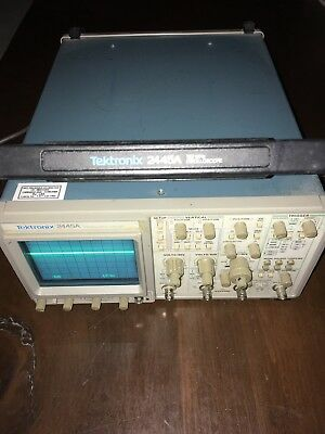 Tektronix 2445A Four Channel 150 MHz Oscilloscope
