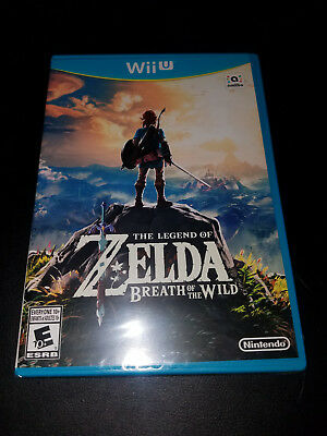 Legend of Zelda: Breath of the Wild (Nintendo Wii U, 2017) Brand New, Free Ship!
