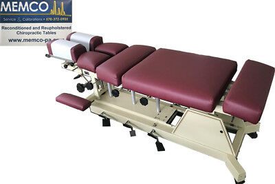 US Table Chiropractic Bench Table - Chest, Lumbar, and Pelvic and Cervical Drops