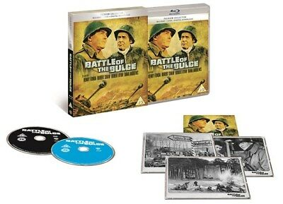 Blu Ray and DVD BATTLE OF THE BULGE. Premium collection. New sealed.
