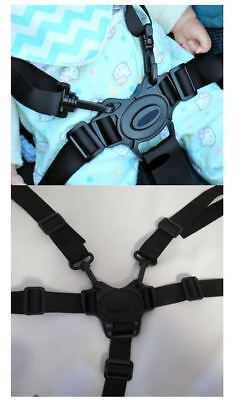 4moms Moxi Baby Toddler Stroller 5 Point Harness Buckle Straps Replacement Parts