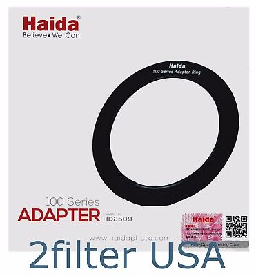*OPEN BOX* Haida 62mm Adapter Ring for 100mm Insert Filter Holder