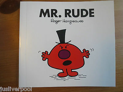 Mr Rude (Book 45) NEW - BUY 3 MR MEN BOOKS GET ANOTHER FREE!