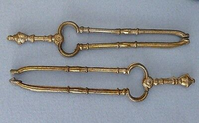 Vintage dolls house fire irons.