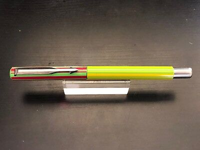 Parker Vector Roller Ball Pen Made In Uk Rare Rainbow Color