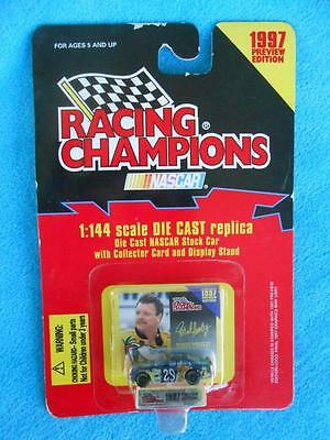RACING CHAMPIONS ~ ROBERT PRESSLEY #29 ~ 1997 ~ NASCAR ~ 1/144 Scale Diecast Car