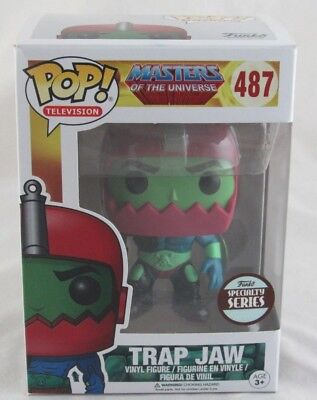 Funko Pop! Masters of the Universe Trap Jaw #487 Funko Specialty Series - Read