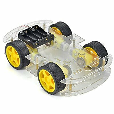 Crazepony-UK Auto Robot Smart voiture châssis Kit 4 ruote con velocità codeur